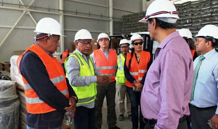 SUFRAMA inicia missão de prospecção no Peru com visita à ZED e Porto de Paita